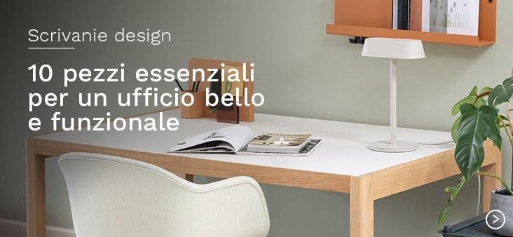 Scrivanie design: 10 pezzi essenziali per un ufficio bello e funzionale